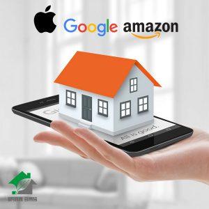 توسعه استاندارد خانه هوشمند با همکاری اپل، گوگل و