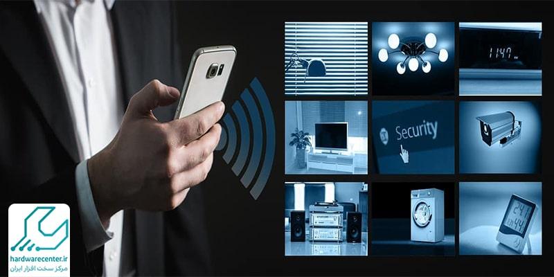 اتصال دوربین مدار بسته به گوشی
